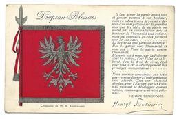 Guerre 14 18 POLOGNE Drapeau Polonais  ...G - War 1914-18
