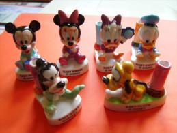 """Rares Feves Geantes Porte ?  """"  Baby  Disney - Donald - Mickey - Pluto - Dingo  """"  Voir Etat - Disney"""