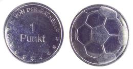 00847 GETTONE JETON TOKEN ARCADE PLAY MACHINE FOOTBALL 1 PUNKT - Allemagne
