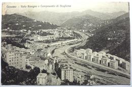 VALLE BISAGNO E CAMPOSANTO DI STAGLIENA - GENOVA - Genova