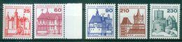 Berlin 1978 / MiNr.   587 – 590 Und 611 A   ** / MNH   (o4566) - Ongebruikt