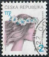 Tchéquie 2001 Yv. N°246 - Signes Du Zodiaque - Vierge - Oblitéré - Tchéquie