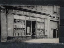 Z28 - 81 - Albi - Devanture Magasin Phototypie Tarnaise Andre Poux - Au Verso Publicité Entrepot D'Allumettes - 1912 - Albi
