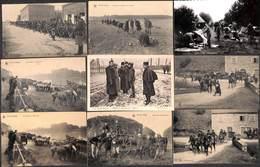 Armée Belge - Superbe Lot 15 Cartes (animée, Chevaux, Canon,...) - Personnages