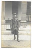 CARTE PHOTO - Portrait De Militaire... - Uniformes