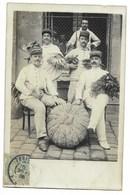CARTE PHOTO - Portraits De Militaires...  1906 - Uniformes