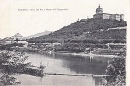 TORINO - Riva Del Po E Monte Dei Cappuccini - Churches