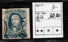 Mexique - Yvert N°1 De 1856 Cote 30€ - Mexique