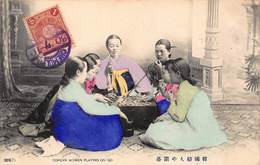 CPA COREAN WOMEN PLAYING ON GO - Corée Du Sud