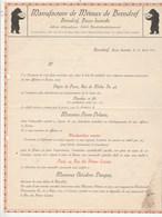 Autriche Lettre Commerciale Illustrée Ours 10/4/1912 Manufacture De Métaux De BERNDORF - Orfèverie - Autriche