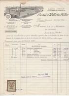 Autriche Facture Illustrée 15/6/1934 Gustav & Wilhelm HELLER Chocolat Confiserie VIENNE - Austria
