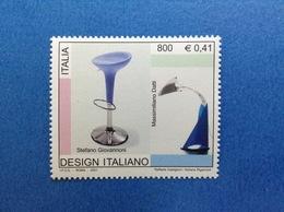 2001 ITALIA FRANCOBOLLO NUOVO STAMP NEW MNH** - GIOVANNONI DATTI DESIGN ITALIANO - 1991-00: Mint/hinged