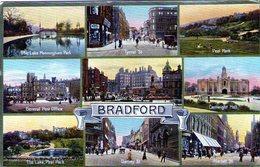 ANGLETERRE - YORKSHIRE - BRADFORD - 1910 - Très Bon état - Bradford