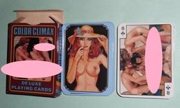 Rare Jeu De 54 Cartes En Boite, COLOR CLIMAX, Hard Nu Nude, Joker - 54 Cartes