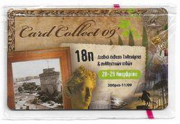 Greece - 18th Intern. Card Collect Expo 09' Remote Mem. 11.2009, 300ex, NSB - Greece