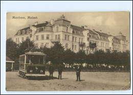 XX004387/ Malmö  Manhem  Straßenbahn AK Schweden Ca.1920 - Suède