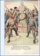 U4124/ Kaiser Franz  Josef  Bozen-Gries Opfertag 1916 AK  - Case Reali
