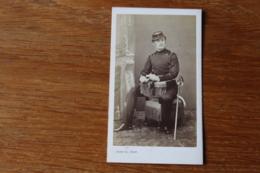 Cdv Second Empire  Militaire  Cavalier  Lancier   ? Nom Au Dos Par Franck - Guerre, Militaire