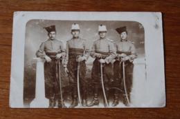 Carte Photo  Les Chasseurs D'afrique Belles Tenues  2 Eme Regiment - Guerra, Militares
