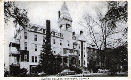 ETATS UNIS - GEORGIE - CUTHBERT - Andrew College - Très Bon état - Etats-Unis