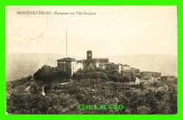 MONTEVETTOLINI, IT - PANORAMA CON VILLA BORGHESE - TRAVEL IN 1929 - FOTO R. CHOIORANI - - Italie