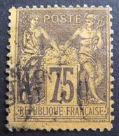 R1680/426 - SAGE TYPE II N°99 - CàD - Cote : 50,00 € - 1876-1898 Sage (Type II)