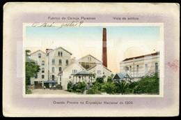 OLD POSTCARD FABRICA DE CERVEJA PARAENSE BELEM PÁRA BRASIL BRAZIL  POSTAL CARTE POSTALE - Belém