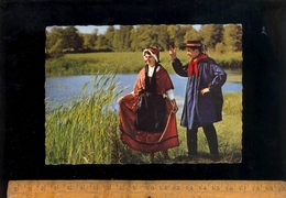 GANNAT Allier 03 : Folklore D'Auvergne Groupe Folklorique De Gannat La Bourrée 1968 - Francia
