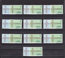 España Nº 2031 Al 2032 - 10 Series - 1931-Hoy: 2ª República - ... Juan Carlos I
