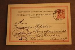 ( 2379 ) GS DR  P 8 II B   Gelaufen    -   Erhaltung Siehe Bild - Allemagne