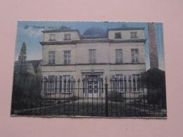 Villa C. Vermeire HAMME () Anno 19?? ( Zie Foto's Voor Detail ) Kaart Uit Carnet ? ! - Hamme