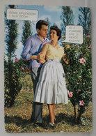 Coppia Innamorati  Frase D'amore Cartolina 1962 - Coppie