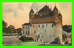 LAUSANNE, SUISSE - LE CHÂTEAU - ANIMÉE - GRANDS MAGASINS À L'INNOVATION, G. & CO - - VD Vaud