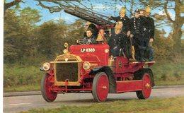 Dennis Fire Engine   -  1915  -  CP - Camión & Camioneta