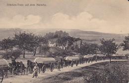AK Brücken-Train Auf Dem Marsche - Deutsche Soldaten Pontons Pioniere - Patriotika - 1. WK (38984) - Guerra 1914-18