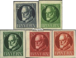 Bavière 110B-115B Avec Charnière 1916 King Ludwig III. - Bayern (Baviera)