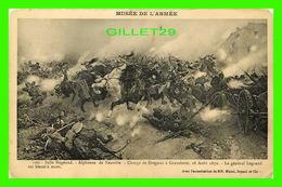 MILITARIA, GUERRES - CHARGE DE DRAGONS À GRAVELOTTE, 1870 - SALLE BUGEAUD, ALPHONSE DE NEUVILLE - - Guerres - Autres