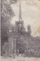Mortain, Entrée De L'institut Militaire Belge (pk54578) - France