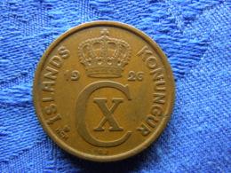 ICELAND 5 AURAR 1926, KM7.1 - Island