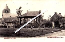 KEMMEL - La Place - Carte Circulée En 1904 - Heuvelland