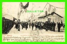 MILITARIA - BIZERTE, LE PRÉDIDENT LOUBET PASSANT LA REVUE DES TROUPES - EDITION J. PICARD & CIE - CIRCULÉE EN 1905 - - Régiments