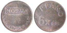 02608 GETTONE JETON PLAY TOKEN SUPERMARKET DEPOSIT TOKEN NORMA - Allemagne
