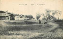 MACEDOINE 1917 - SEDES - LA GRAND'PLACE - Mazedonien