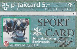 PTT-p: KP-93/56A 307L Stiftung Schweizer Sporthilfe - Sportcard Bob - Schweiz