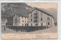 Schweizer Infanterie Inspektion Der Kompagnie - Wallenstadt - Schlossschule - SG St. Gallen