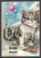 97113/ NOUVEL AN, Chat, Illustrateur L. Dobon - Nouvel An