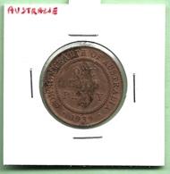 AUSTRALIE  1/2  PENNY  1939  GEORGE VI - Monnaie Pré-décimale (1910-1965)