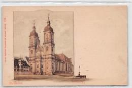 St. Gallen Domkirche - Litho - SG St. Gallen