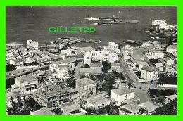 POINTE PESCADE, ALGÉRIE - VUE AÉRIENNE SUR LE PORT - ÉCRITE EN 1964 - EDITION POZAS - - Alger