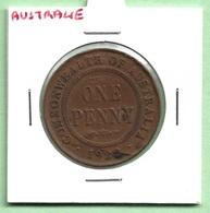 AUSTRALIE  1  PENNY  1922  GEORGE V - Penny
